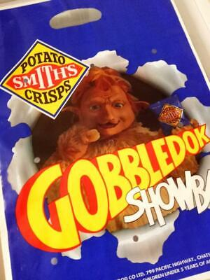 Vintage Australian EASTER SHOW SHOWBAG-SMITH'S CRISPS GOBBLEDOK Sample Bag