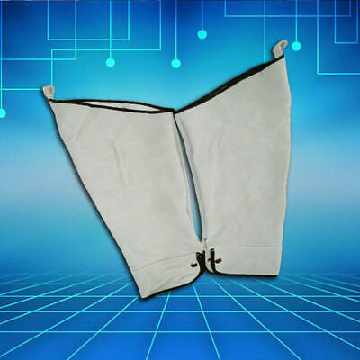 Leather Welding Sleeve Working Clothes Equipment For Welder Arm Protect New KBS