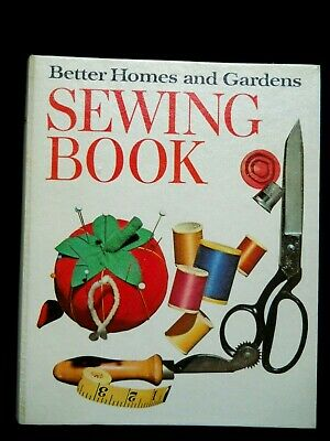 Vintage 1970 Better Homes & Gardens Sewing Book / Hardcover Spiral