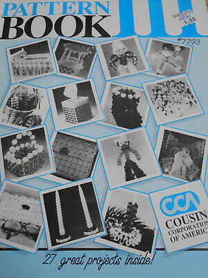 Bead World Pattern Book III  27 Great Projects- Cousin Corp