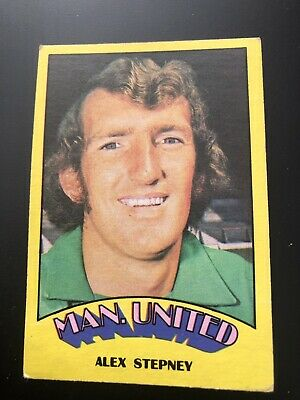A&BC FOOTBALL CARD 1974 RED BACK No44