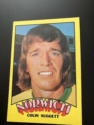 A&BC FOOTBALL CARD 1974 RED BACK No37