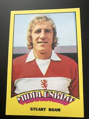 A&BC FOOTBALL CARD 1974 RED BACK No84