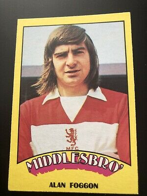 A&BC FOOTBALL CARD 1974 RED BACK No86