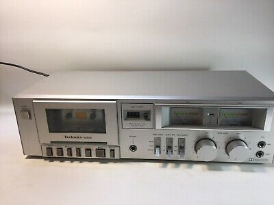 Vintage Technics RS-M205 Dolby Stereo Cassette Deck Tape Recorder Player