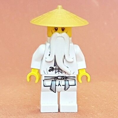 Lego Ninjago Sensei Wu minifigure from set 9450 Epic Dragon Battle njo064 *