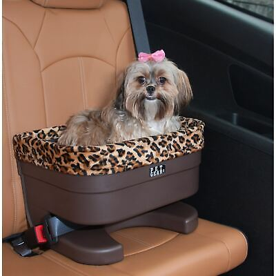 Pet Gear Bucket Seat Booster in Chocolate and Sage
