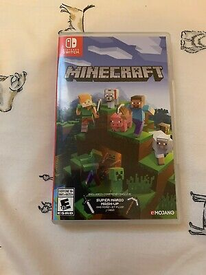Minecraft Nintendo Switch (game Case Only), Free Shipping