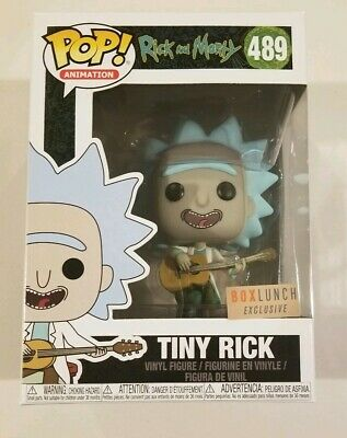 TINY RICK Funko Pop Television #489 Box Lunch Exclusive