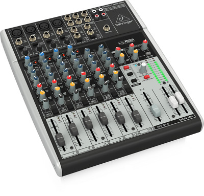 Behringer 1204USB Xenyx 12-Input 2/2-Bus Mixer with USB/Audio Interface