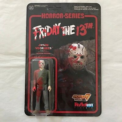 Funko ReAction NYCC 2016 Super 7 Friday the 13th Bloody Jason Vorhees!