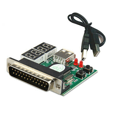 Tester With Parallel Diagnostic Card Laptop Debug Breakdowns 4 Digit Easy Use