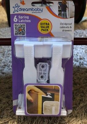 Dreambaby 6 Pack Spring Latches