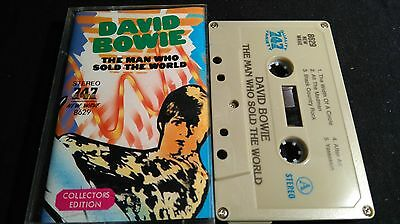 David Bowie The Man Who Sold The World Rare Mc Exotic Cover Land Inconnus
