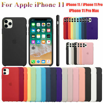 Genuine Original Silicone Case Back Cover Fits For Apple iPhone 11 Pro Max