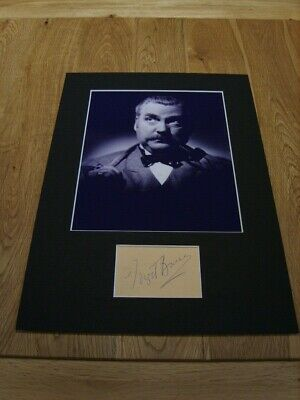 Nigel Bruce Sherlock Holmes Genuine Signed Authentic Autograph - UACC / AFTAL.