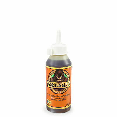GORILLA GLUE 1044805 ORIGINAL GLUE STRONG WATERPROOF ADHESIVE 250ML BOTTLE x 6