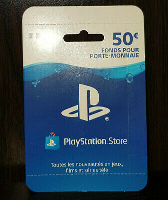 Code Porte Monnaie 50€ Playstation Store