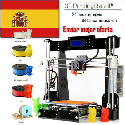 A8 Impresora 3D Prusa I3 Upgrade Full Acrylic Frame Large Print 220*220*240 mm