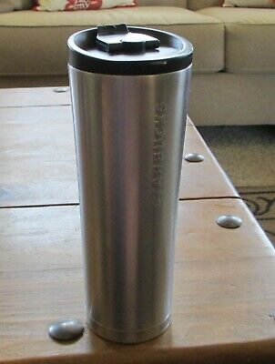 Nice STARBUCKS '11 Stainless Steel 20oz Cup/Tumbler W/ Lid Double Wall (XS70