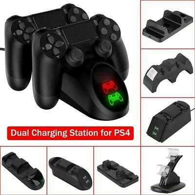 Game Controller Charger Charging Dock Station Stand for Sony Playstation 4 PS4