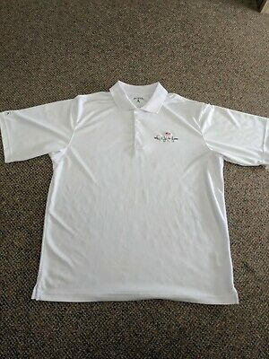 The Rush Limbaugh Show Antigua luxury embroidered men Polo Golf Shirt Large