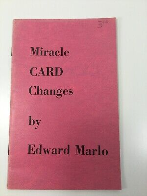 Miracle Card Changes By Edward Marlo Close Up Card Magic