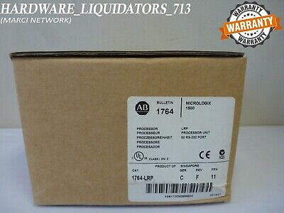 New Sealed Allen Bradley 1764-LRP Series C FW 11 RS-232 Processor Fast Shipping