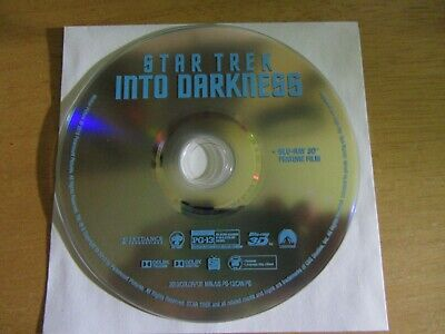 STAR TREK INTO DARKNESS (3D Blu-ray Disc, 2013)  No Scratches