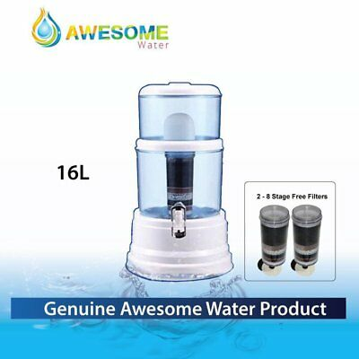 Genuine Awesome Water Bench top Purifier + 2 stage 8 filters