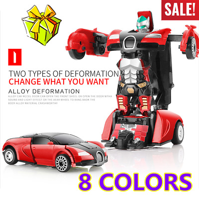NEW Robot Car Transformers Kids Toys Toddler Vehicle Cool Toy For Boys Xmas Gift