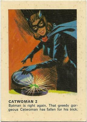 1966 Batman Weeties & Rice Krinkles CATWOMAN 2