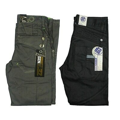 Enzo Boys Jeans Classic Fit Kids Denim Pants in Black Dark Grey Colour All Sizes