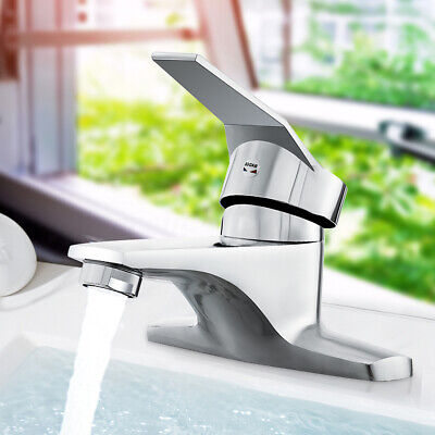 Washbasin Sink Faucet Kitchen Bathroom Tap Faucet Mixer Hot & Cold Water Hose