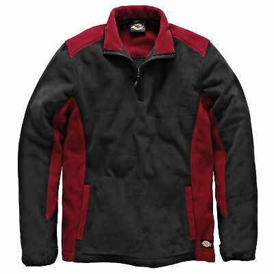 Dickies Two Tone Polyester Micro Fleece Red / Black XL