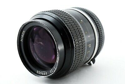 """""""APP EXC+4(AS IS)"""" Nikon New Nikkor 105mm F/2.5 Non Ai MF Lens From Japan  #2829"""