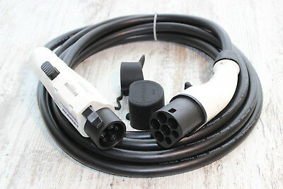 EV Charging cable TYPE2 to TYPE1 plugs 32A