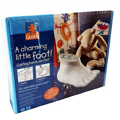 A Charming Little Foot Casting Set Gedo Casting Kit Hands or Feet Of Baby New