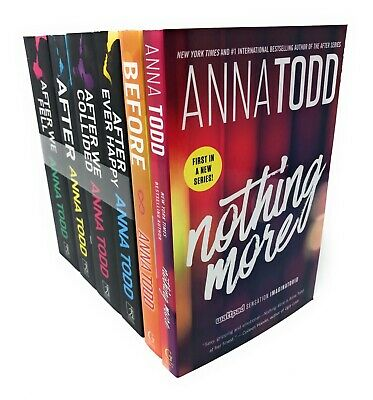 Anna Todd Before And After Series 6 Books Set Collection, Nothing Mo | Anna Todd