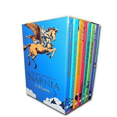 The Chronicles of Narnia Collection C.S. Lewis 7 Books Box Set Pack | Lewis C. S