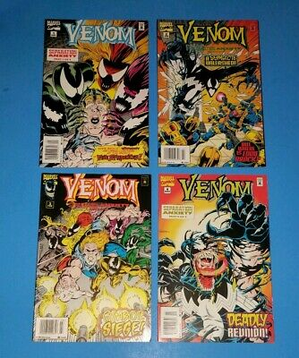 Venom Separation Anxiety 1 2 3 4 Newsstand Variant Complete Set Absolute Carnage