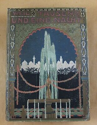 Antique Book Weil Thousand and One Night Arab Stories 1865 Fairytale