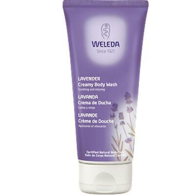 Weleda Body Care Lavender Creamy Body Wash 200 ml  FREE 2 DAY