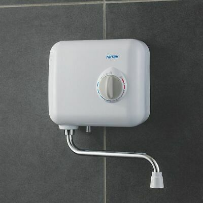Triton T30i 3Kw 7Kw 240V Over Sink Electric Hand Wash Water Heater Unit White