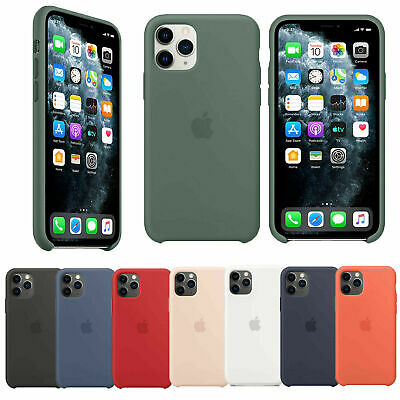 Genuine Original Silicone Hard Case Cover For Apple iPhone 11 Pro Max Newest