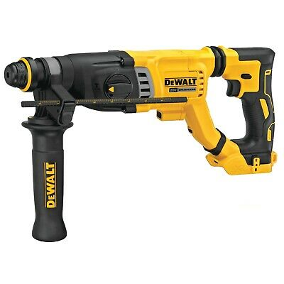 New DeWALT DCH263B 20V XR BRUSHLESS 1-1/8 IN. SDS PLUS D-HANDLE ROTARY HAMMER