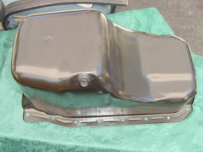 Mercruiser V-6 Oil Pan 14244 Genuine Nos Gm 175 185 205 See All Pics Save Today!