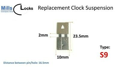 Clock Hour Hand Collet Brass Mantle, Bracket- L: 6mm x 4mm x 1.3mm (MC1)