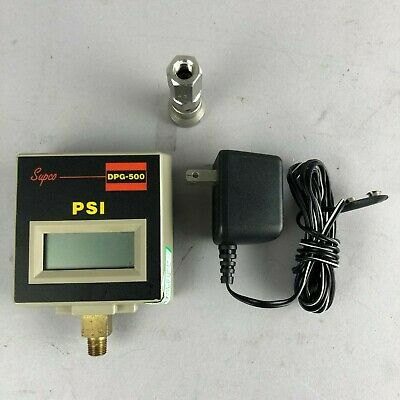 SUPCO DPG-500 PSI Digital Pressure Gauge