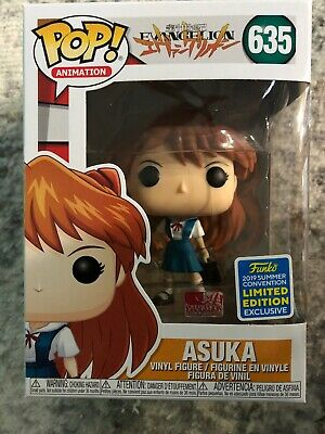Funko Pop Asuka Neon Genesis Evangelion 635 SDCC Shared Exclusive